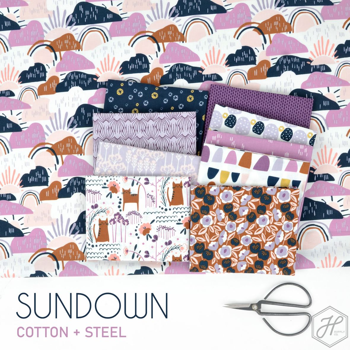 Sundown-Cotton-and-Steel-fabric-at-Hawthorne-Supply-Co
