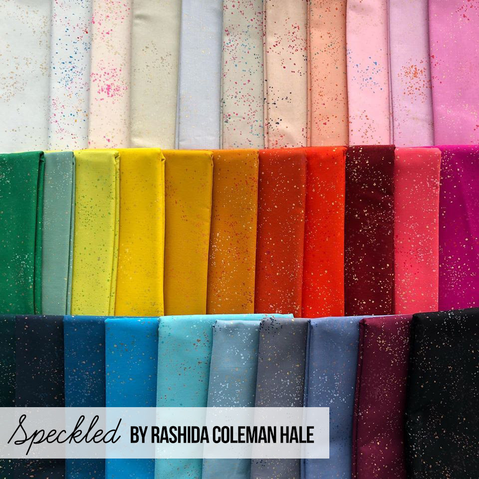 Speckled Fabric Ruby Star Society for Moda at Hawthorne Supply Co