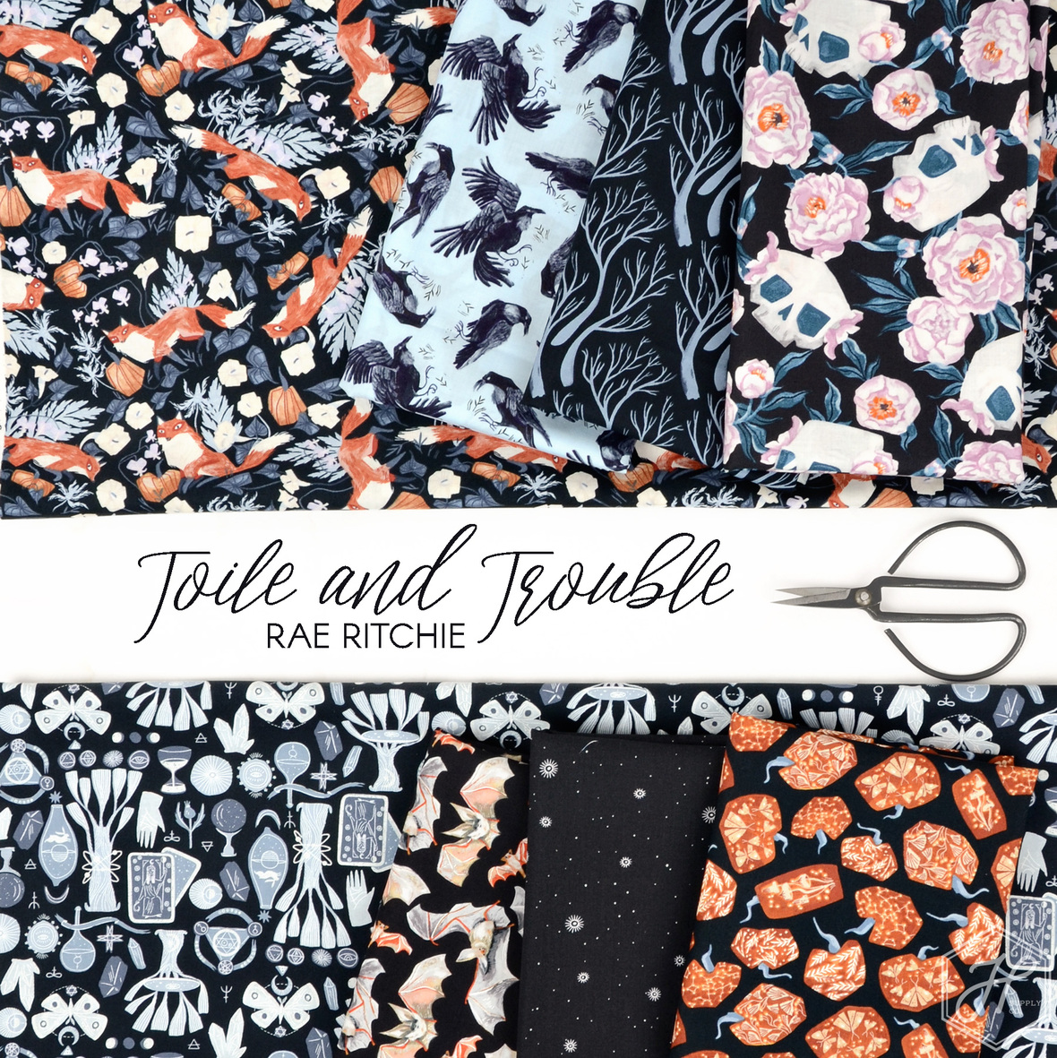 Toile-and-Trouble-Rae-Ritchie-for-Dear-Stella-fabric-at-Hawthorne-Supply-Co