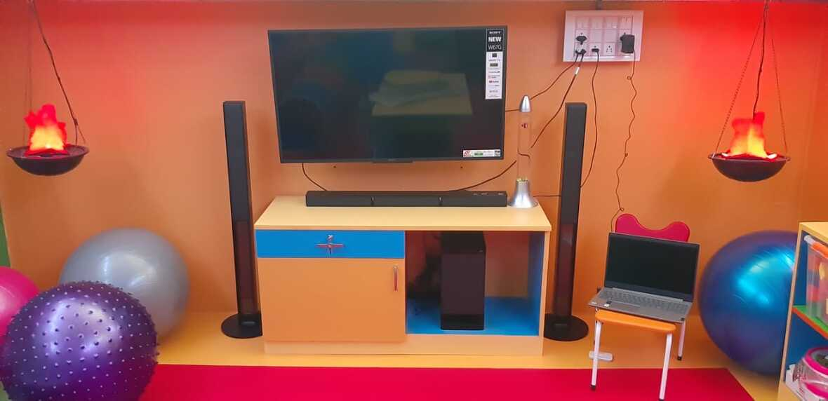 Virtual inauguration of Sensory unit at Boys Home C