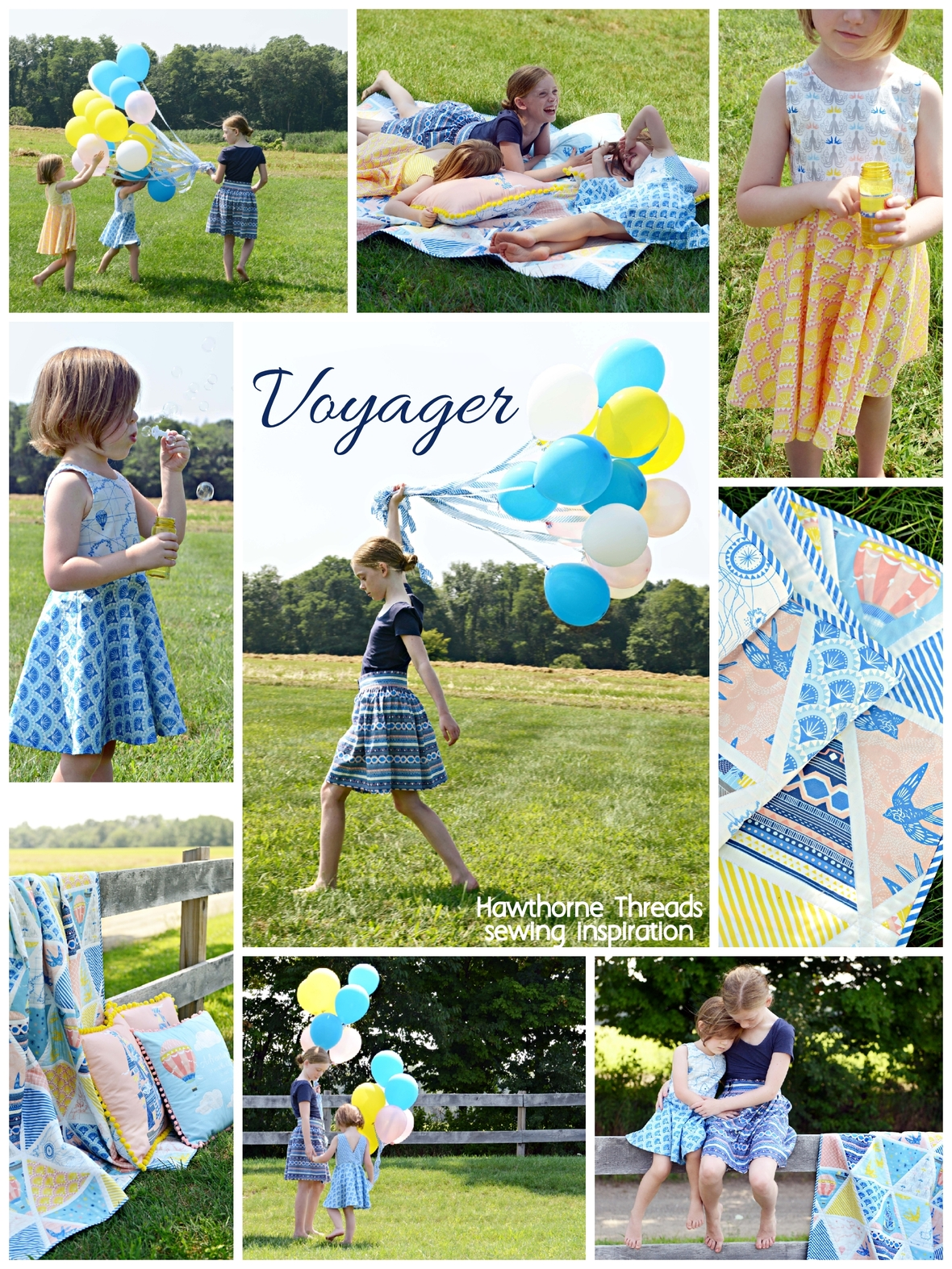 Voyager Fabric Sewing Inspiration