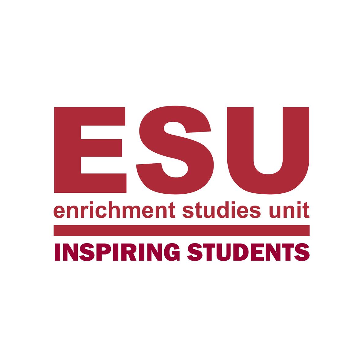 ESU Logo Inspiring Students Red