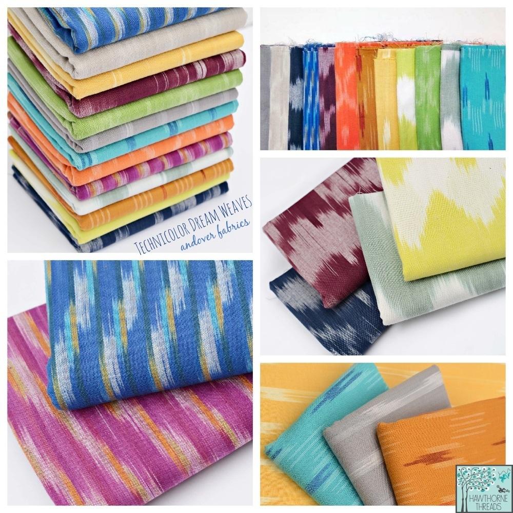 Technicolor Dream Weaves Fabric