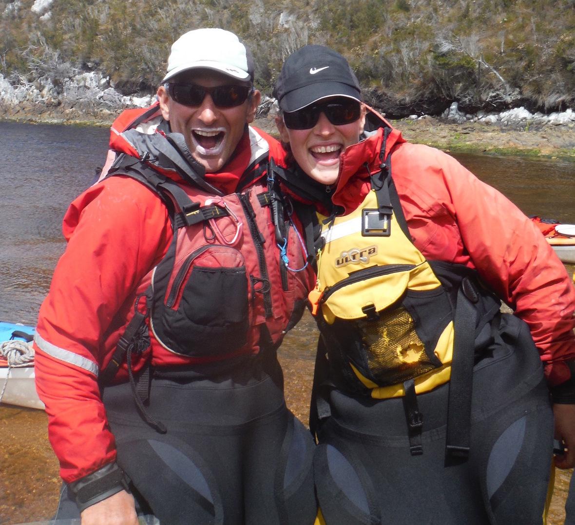 Dress for kayaking