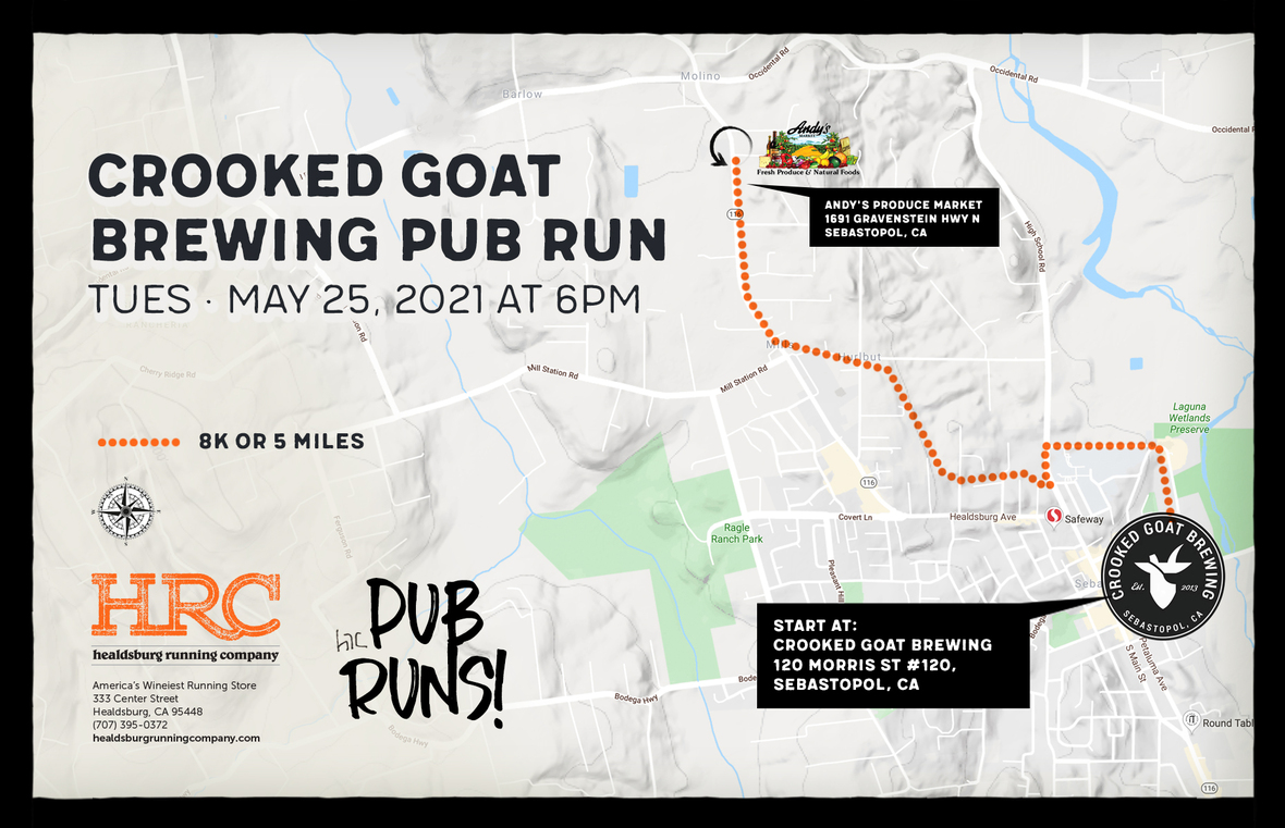 crooked goat map