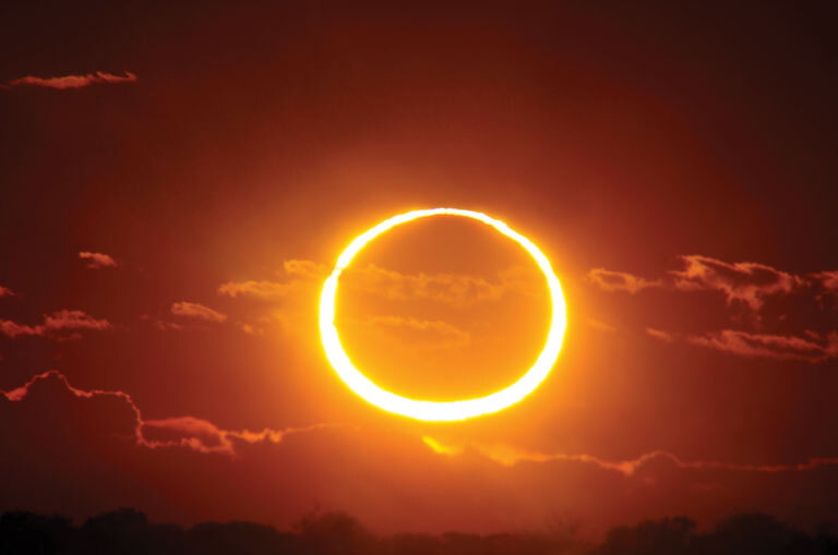 Annular Eclipse Africa