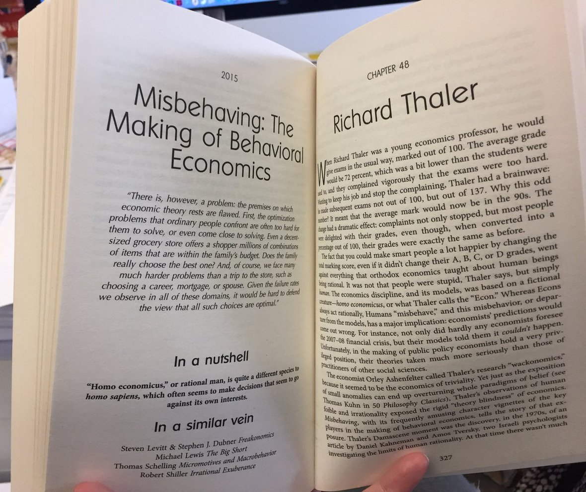 ThalerBehavioralEconomicsNobel