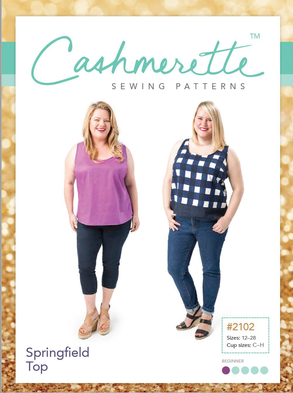 cashmerette  springfield top sewing pattern