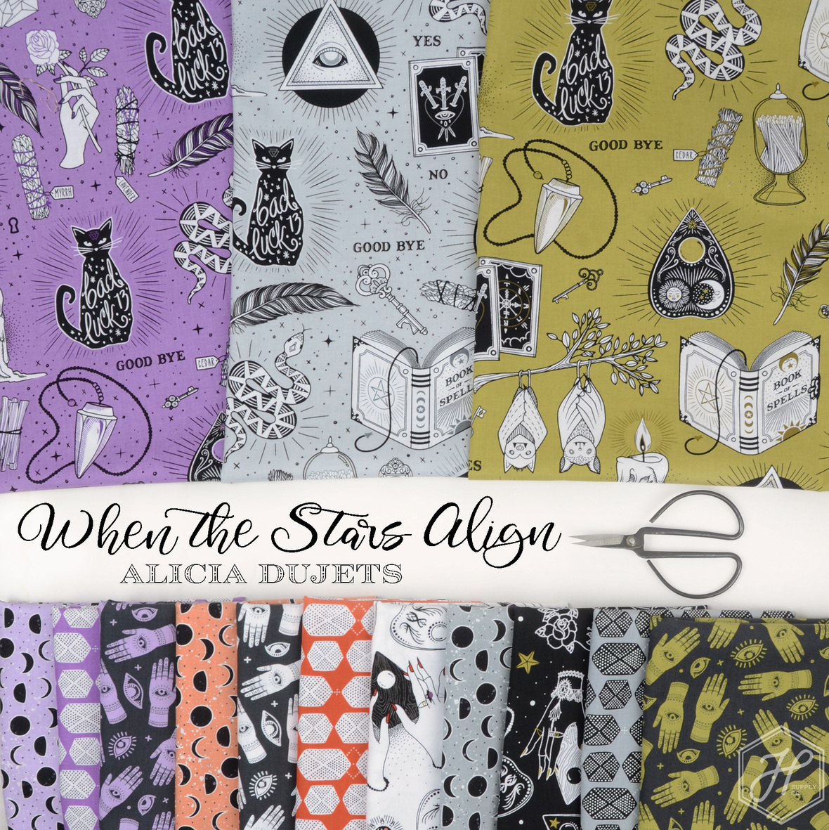 When-the-Stars-Align-Fabric-Alicia-Dujets-and-michael-miller-at-Hawthorne-Supply-Co