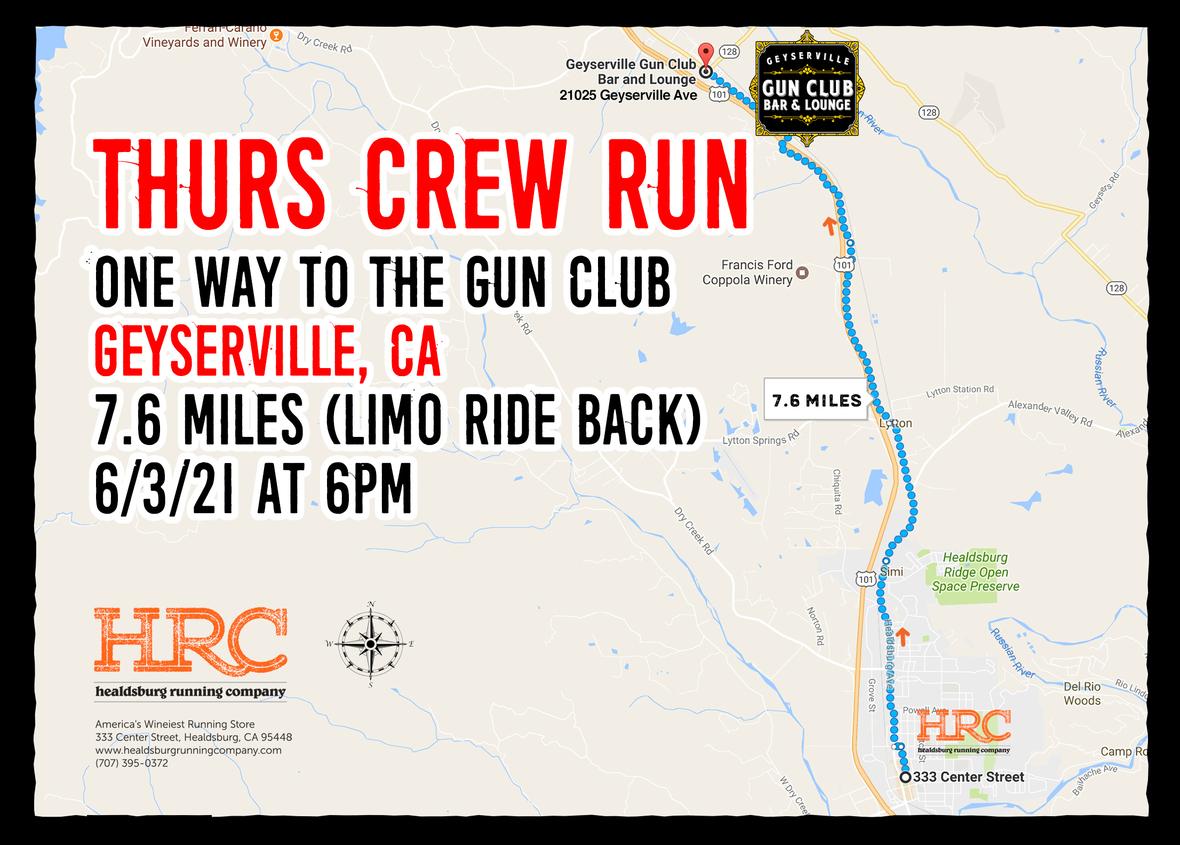 thurs gun club map