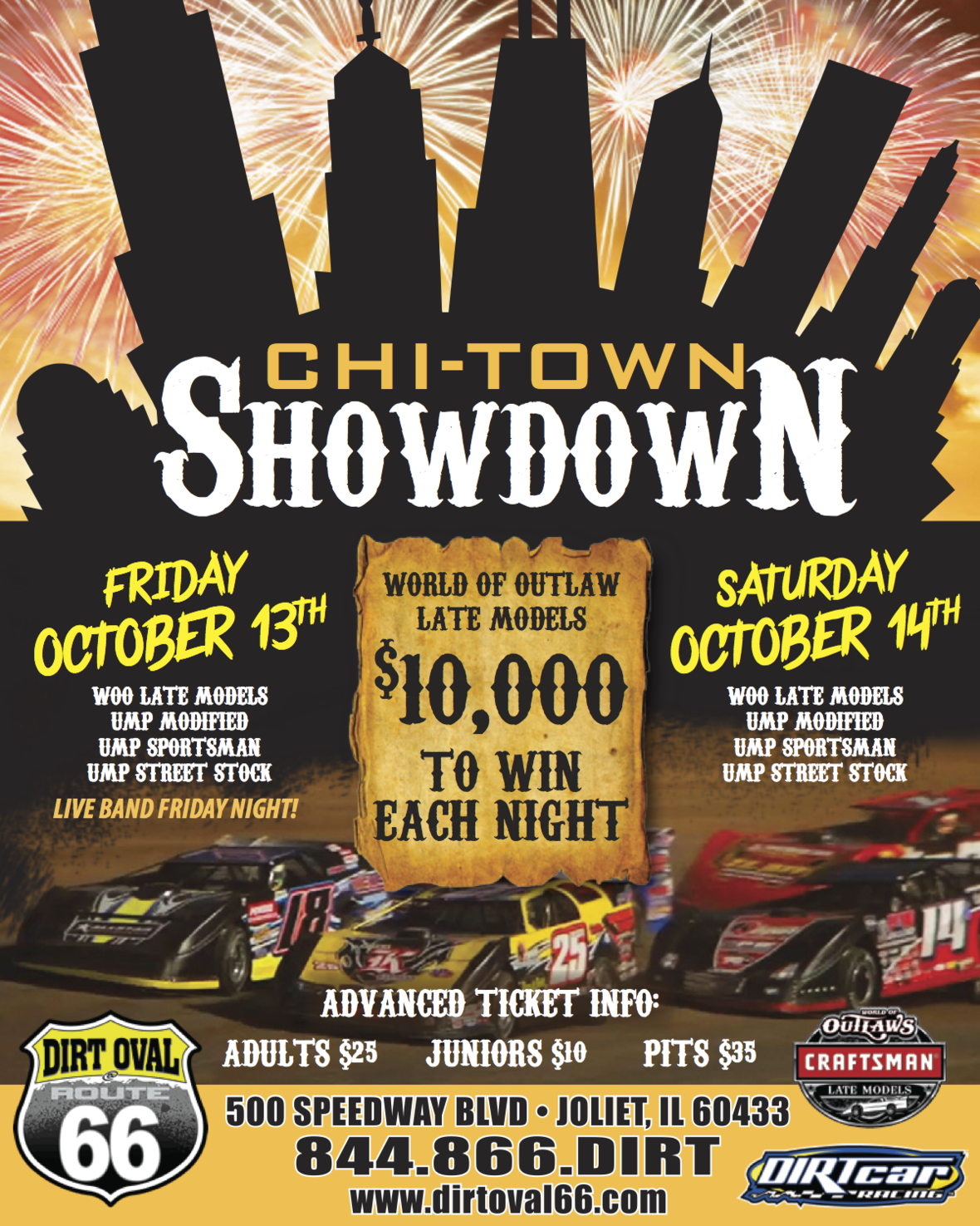 World of Outlaw Late Models Invade Dirt Oval THIS weekend!