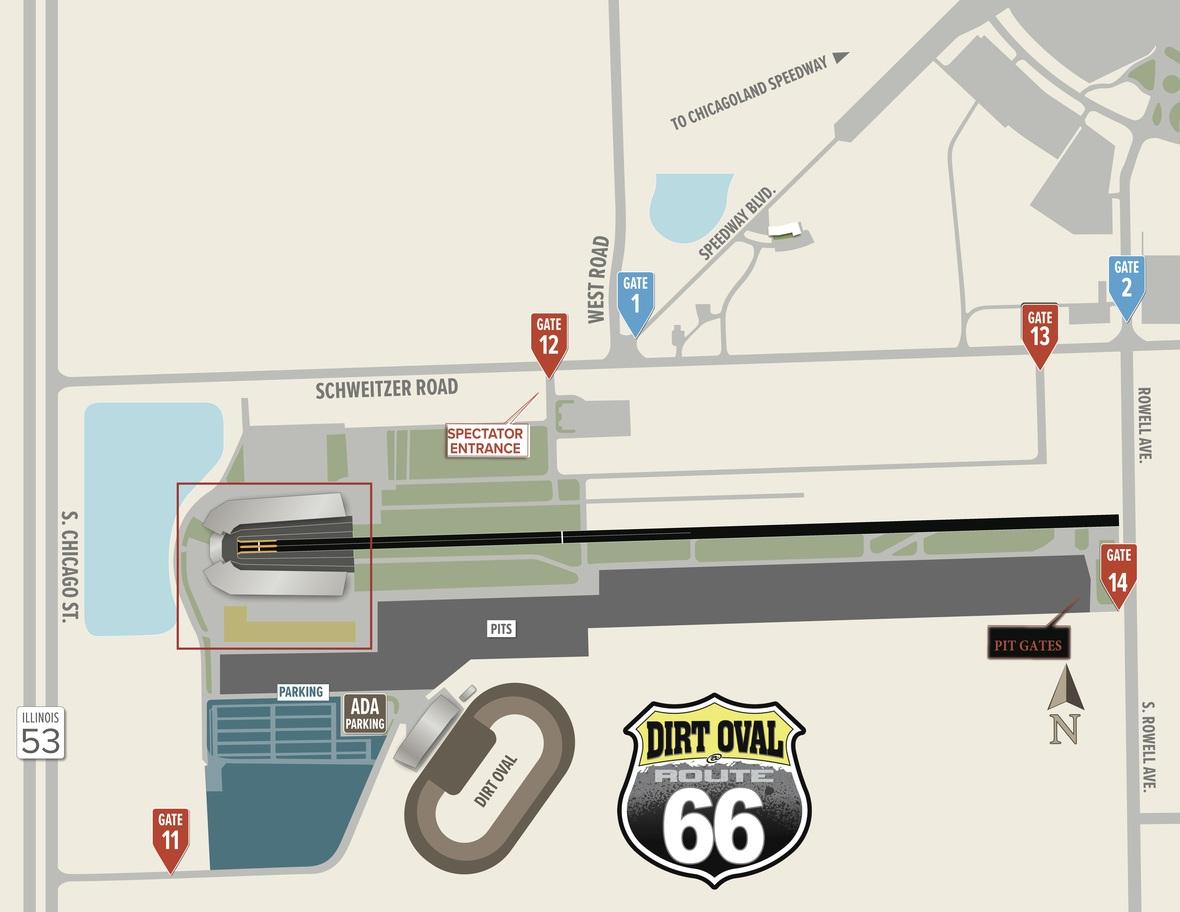 66 gate map