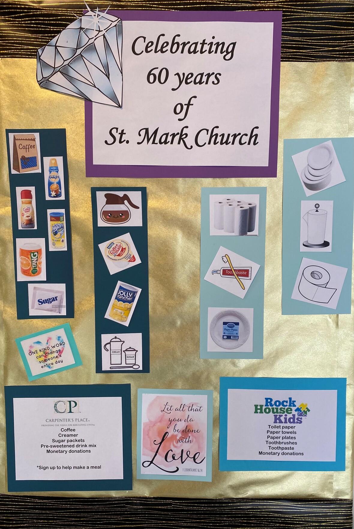 St Mark 60 for June