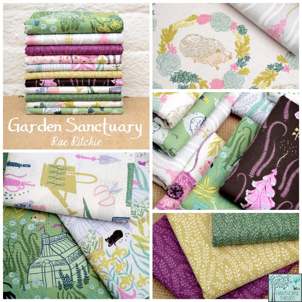 Garden Sanctuary Fabric Poster