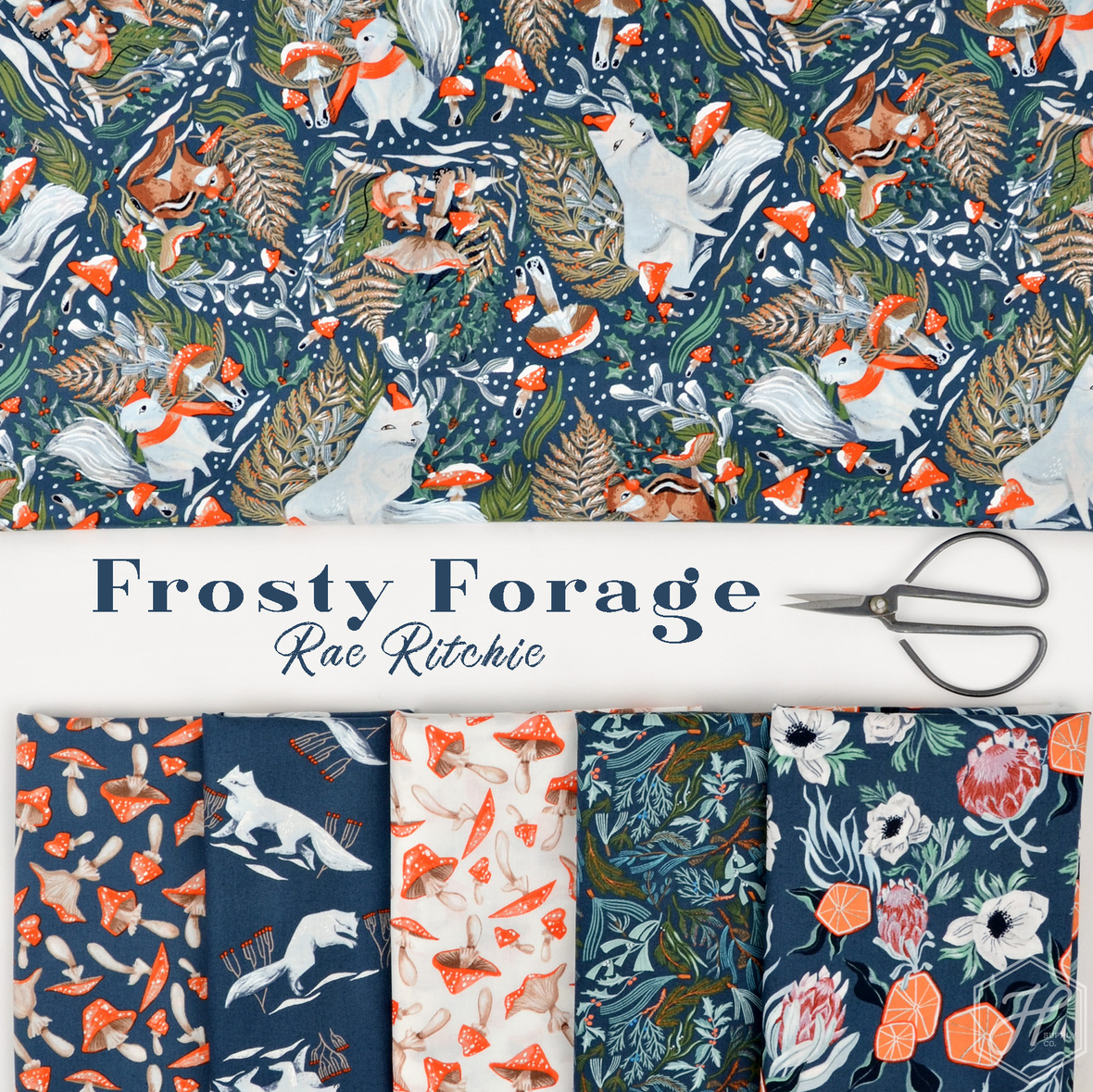 Frosty-Forage-fabric-Rae-Ritchie-for-Dear-Stella-at-Hawthorne-Supply-Co