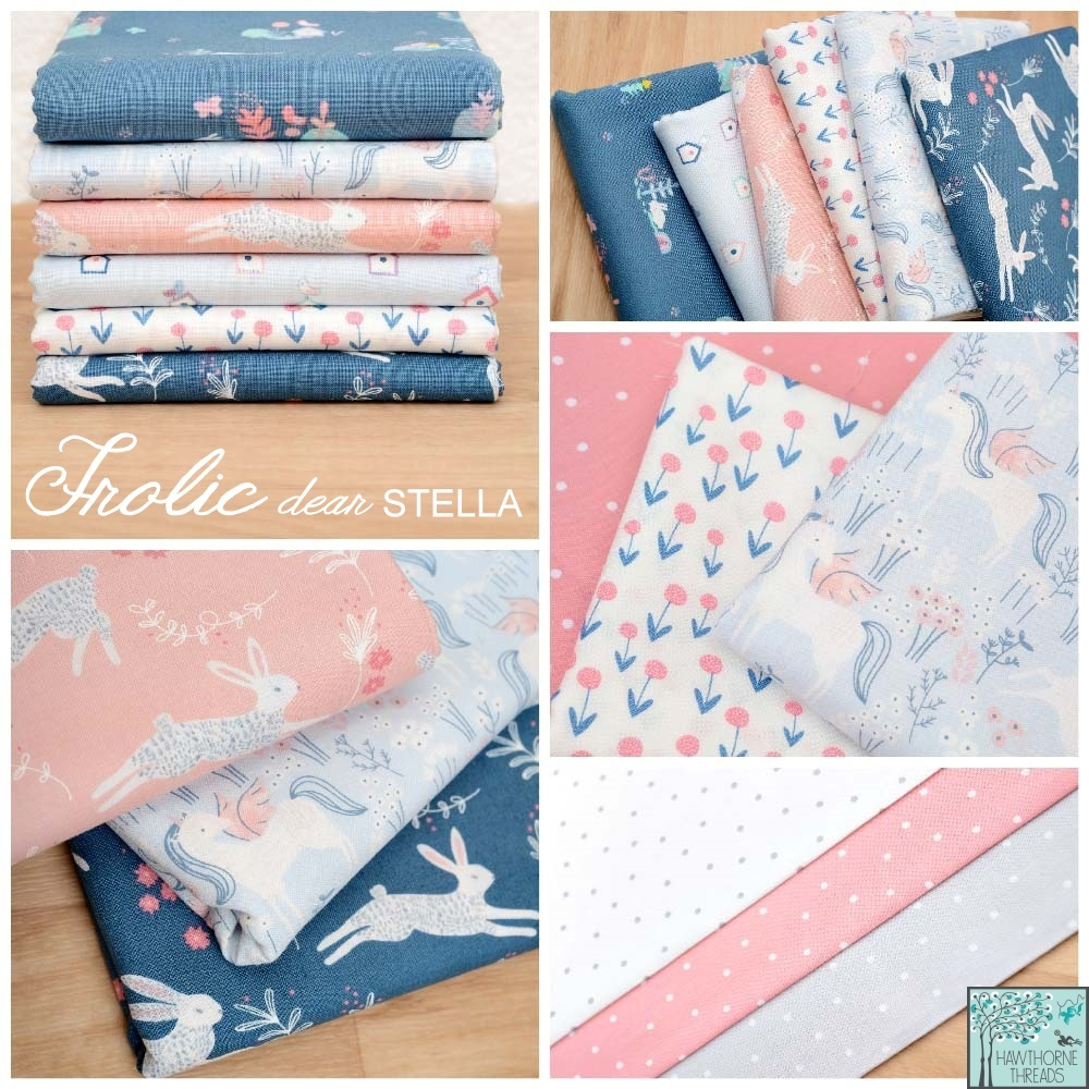 Frolic Fabric Poster