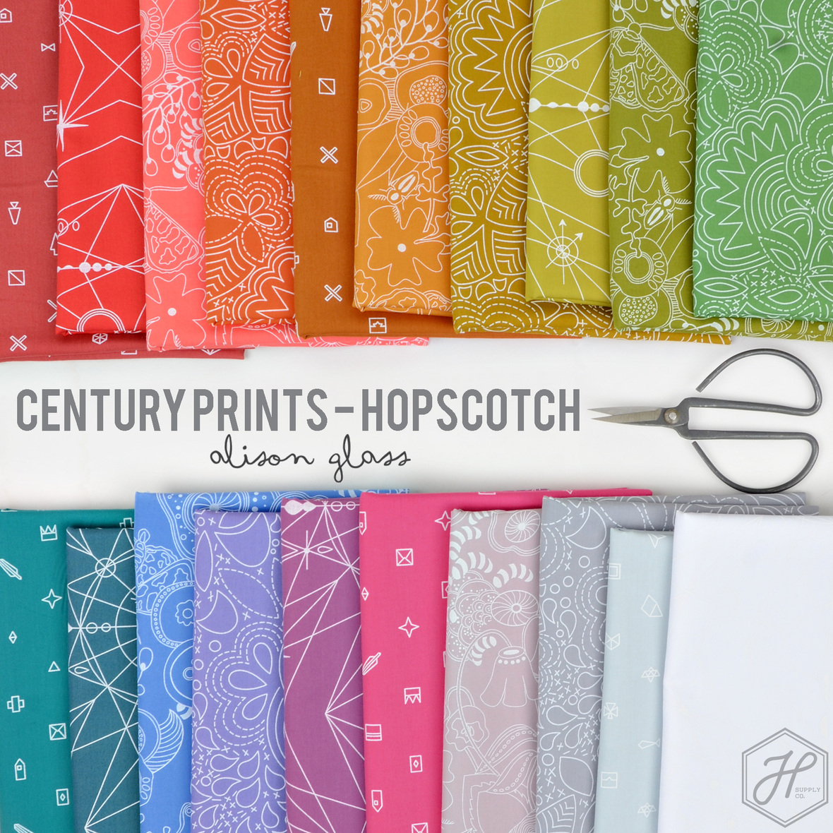Alison-Glass-Century-Prints-Hopscotch-for-Andover-Fabric-at-Hawthorne-Supply-Co