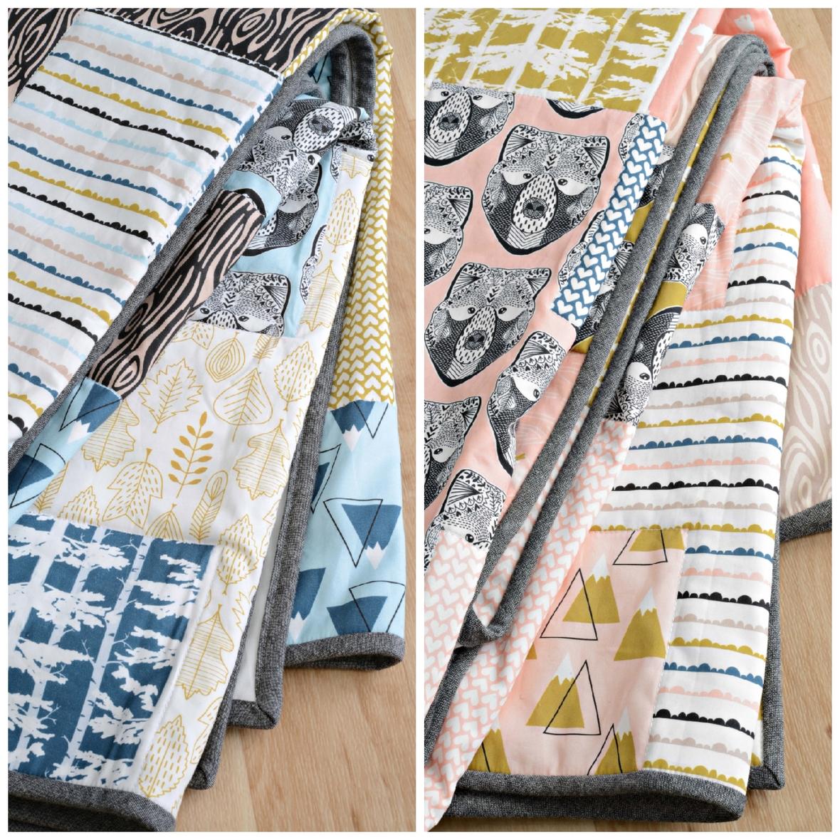 Bjorn Fabric Quilts