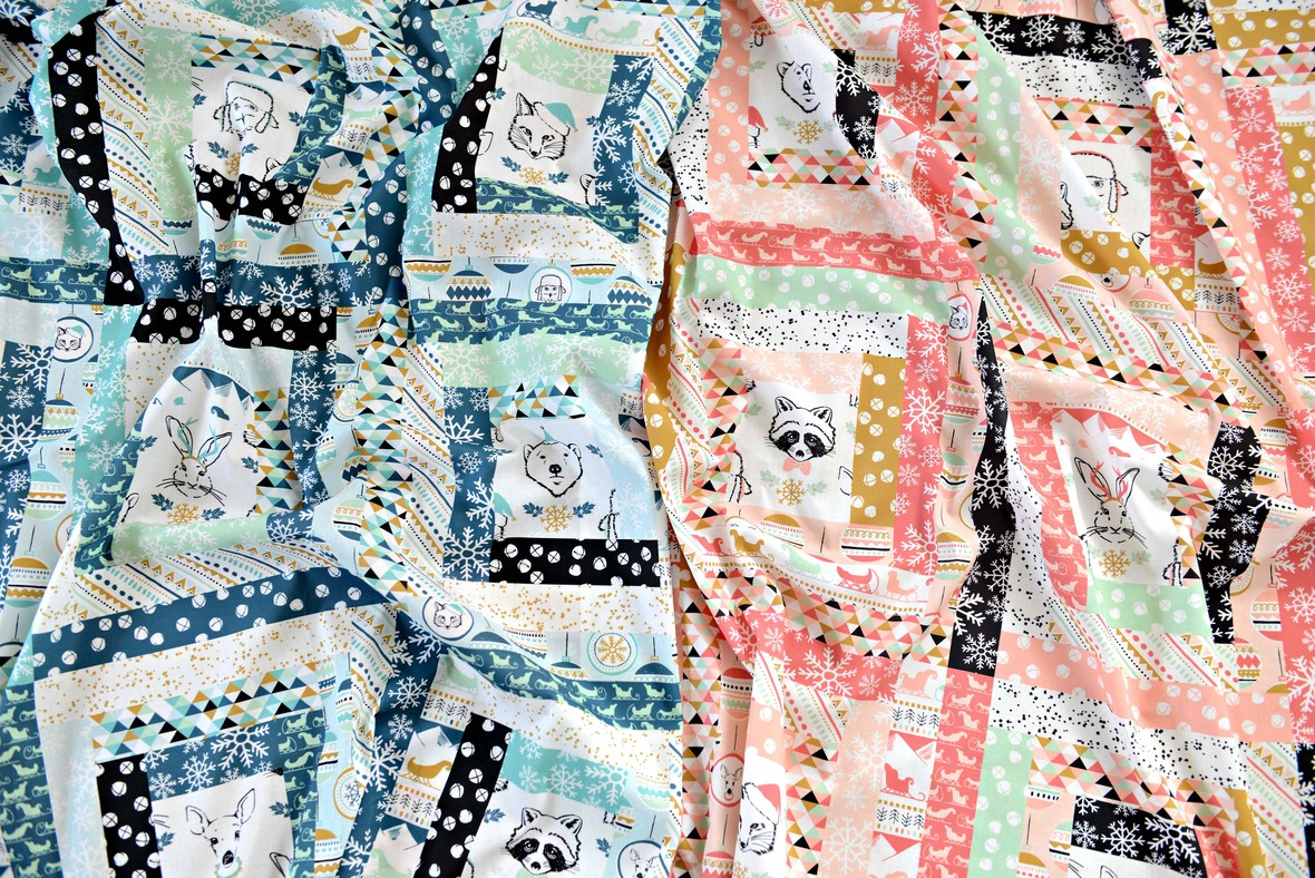 Oh What Fun Faux Patchwork