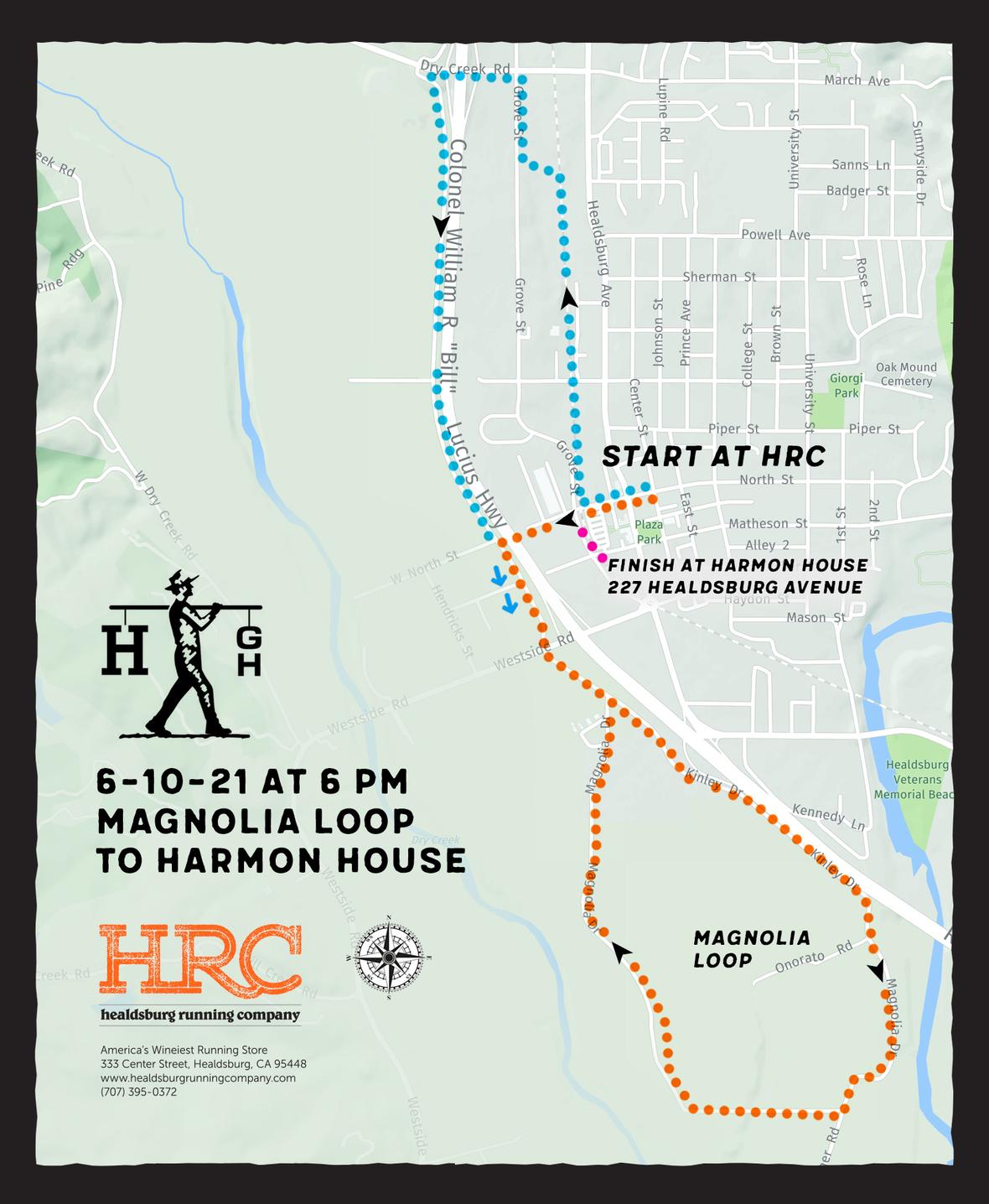 harmon house map