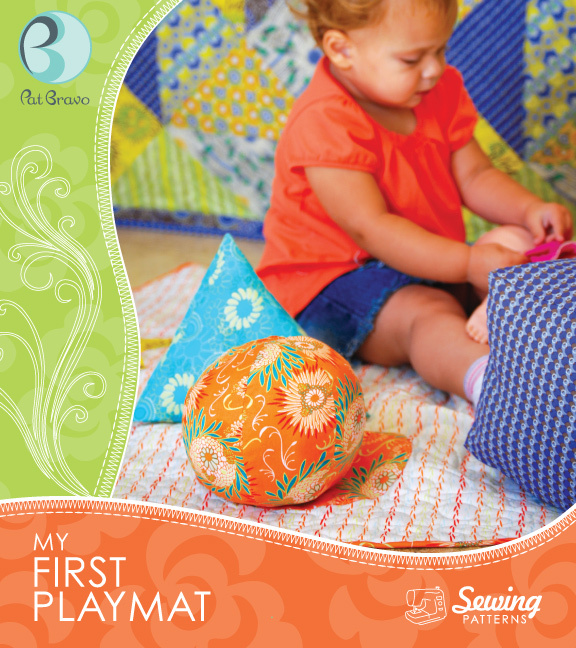 patricia bravo my first playmat pattern sewing pattern