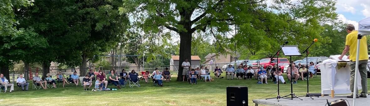 outdoor worship june 6
