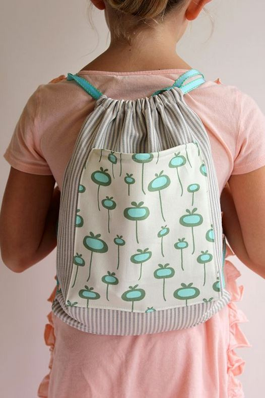 alice and lois- diy drawstring bag tutorial