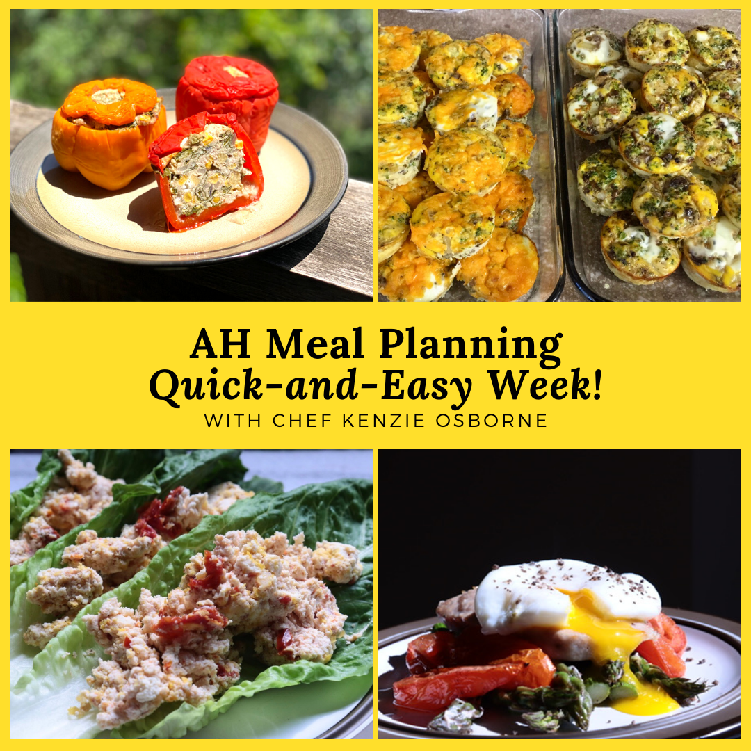 AH Meal Planning Quick and Easy Week