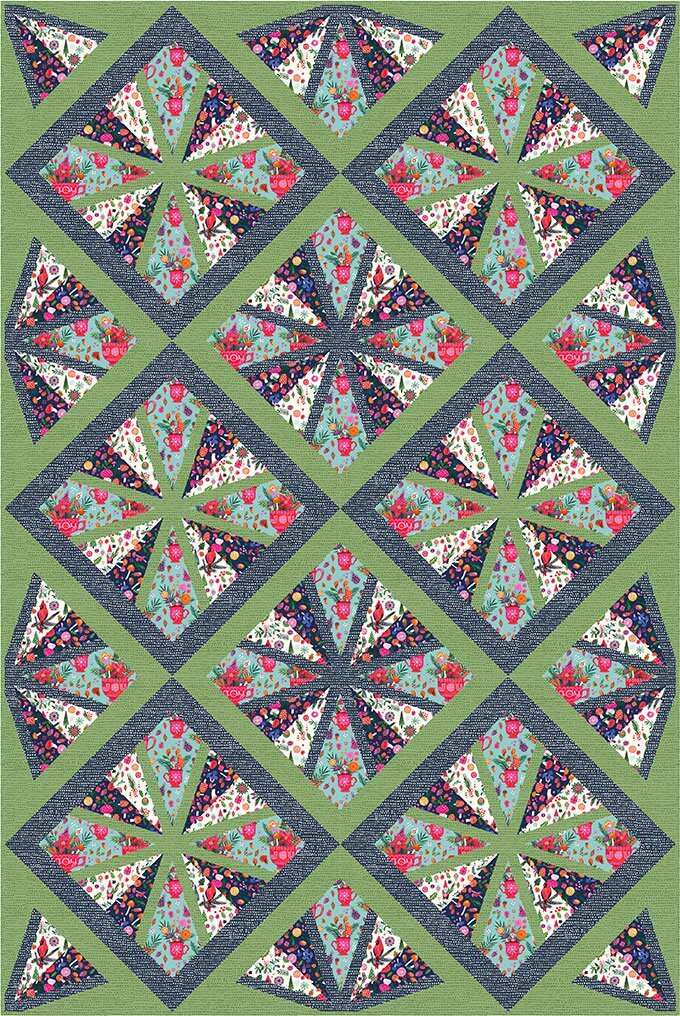 Tamarinis Charisma Quilt Pattern
