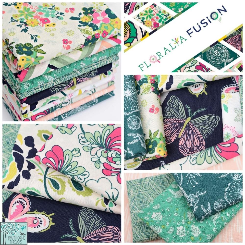 Floralia Fusion Fabric Poster