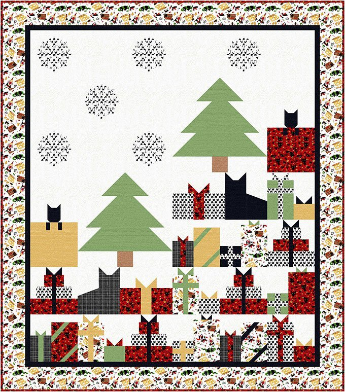 The Fabric Addict Presently Quilt Pattern