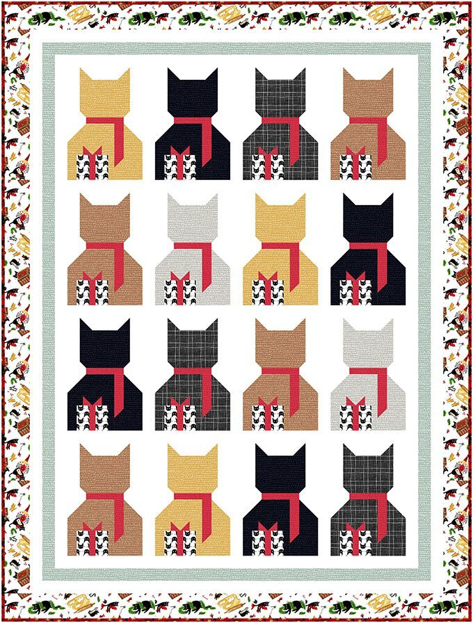 Wendy Sheppard Bearing Gifts Quilt Pattern