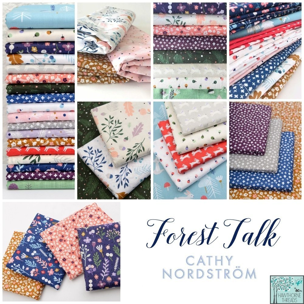 Forest Talk Fabric Poster