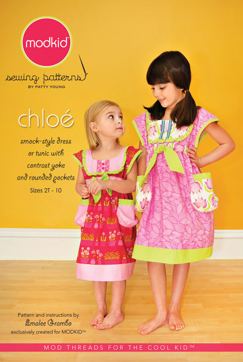 patty young chloe sewing pattern