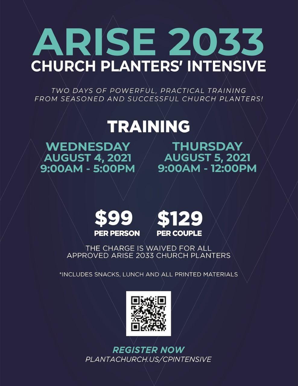 Church Planter Intensive - 2021