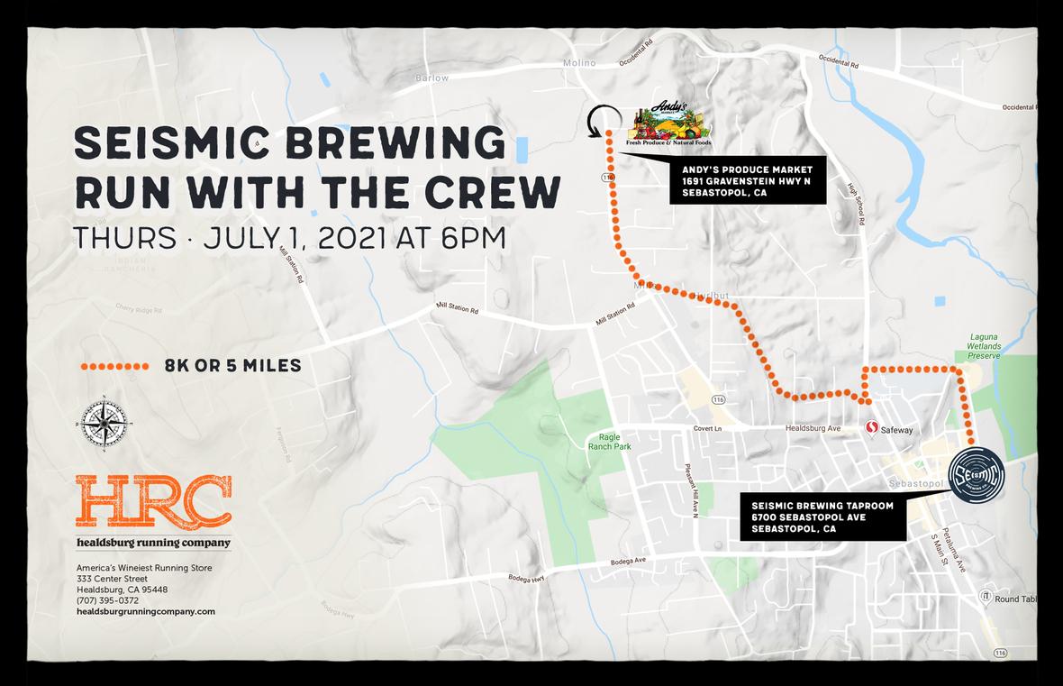 seismic brew map