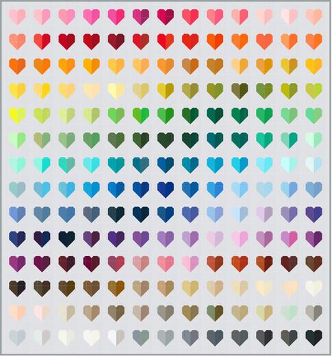 Kona ColorCardHearts