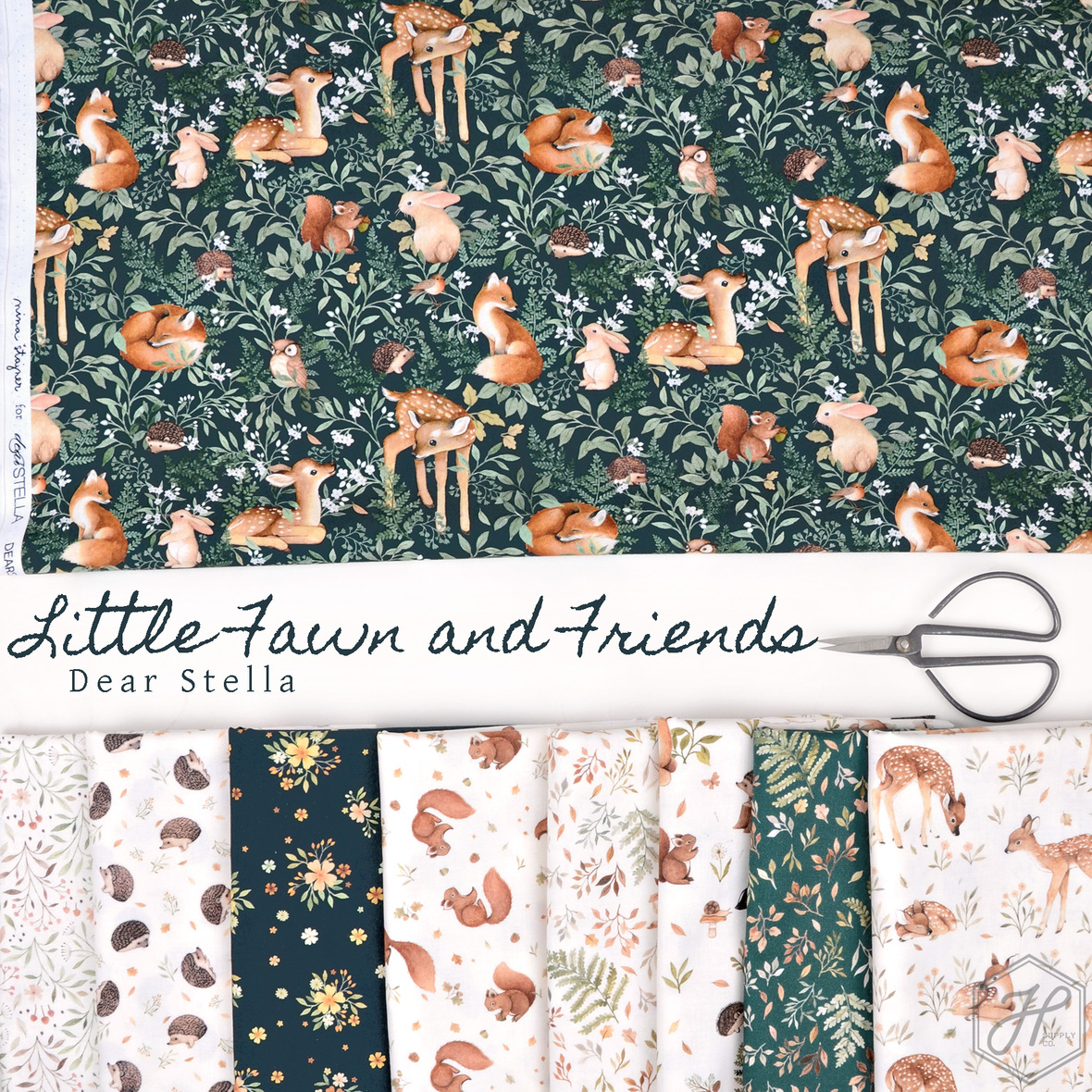 Little Fawn and Friends Fabric Dear Stella at Hawthorne Supply Co