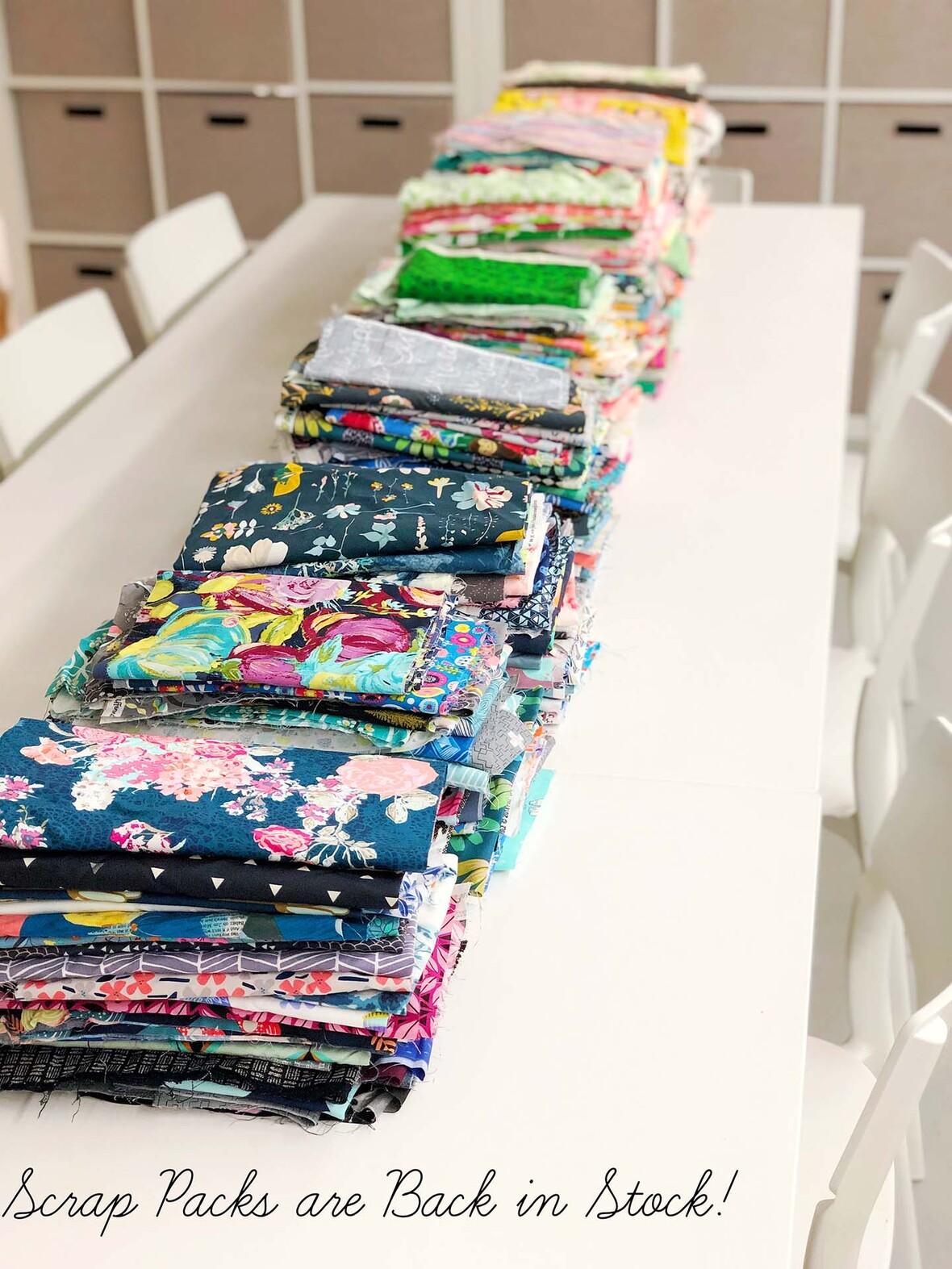 Hawthorne Fabric Scrap Packs