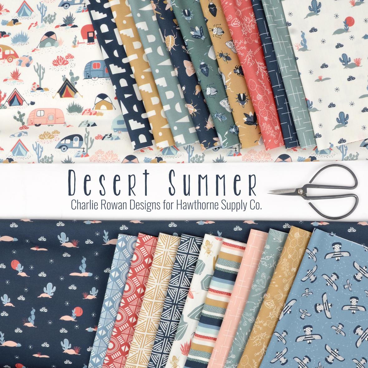 Desert Summer Charlie Rowan Designs for Hawthorne Supply Co