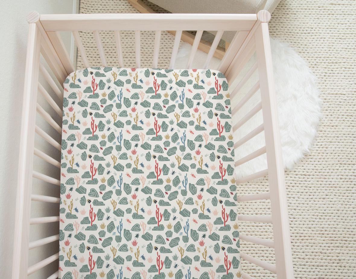 Neutral Crib Sheet 12