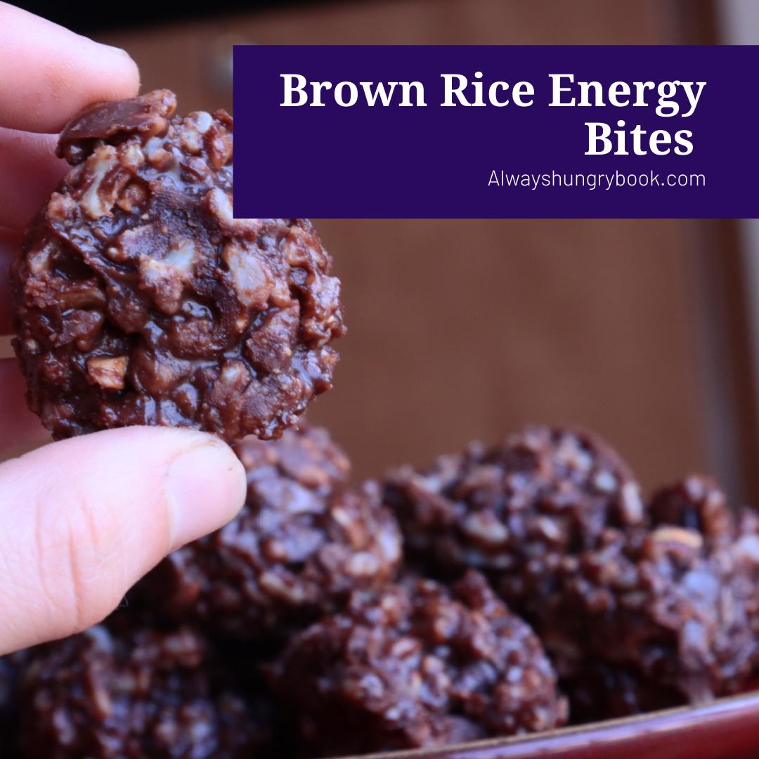Brown Rice Energy Bites