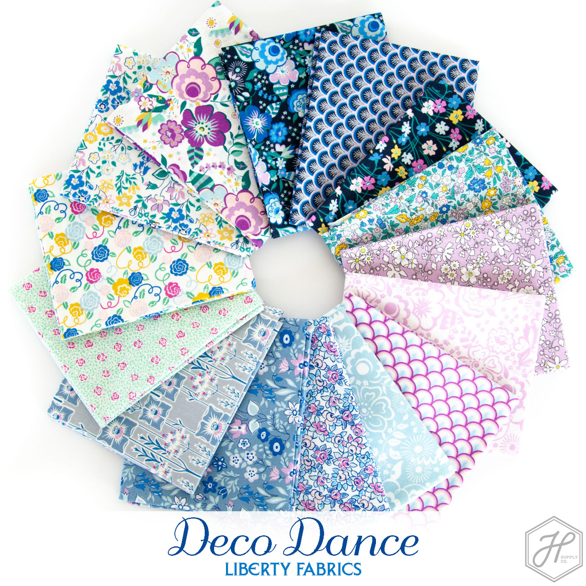 Deco Dance Fabric Liberty for Riley Blake at Hawthorne Supply Co