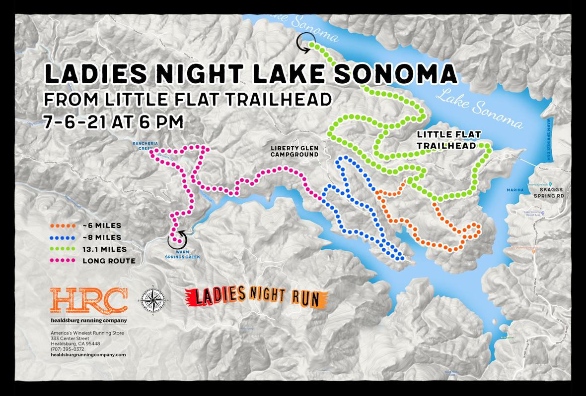 LS Little-Flat-Trailhead ladies map