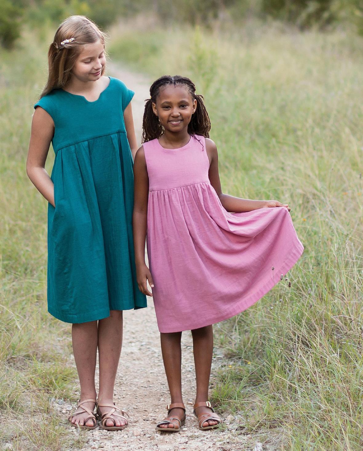 Kids Geranium Dress 2