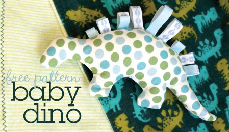 free baby dino pattern first day of mae