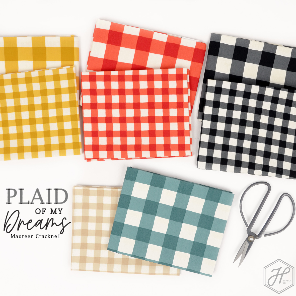 Plaid of My Dreams Fabric Maureen Cracknell for Art Gallery at Hawthorne Supply Co