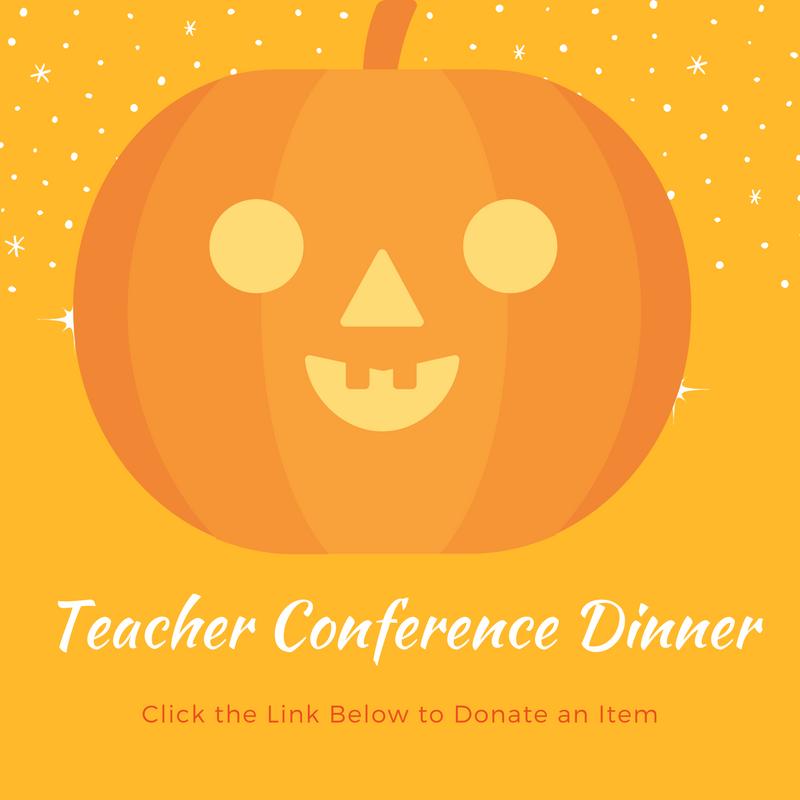 Teacher Conference Dinner