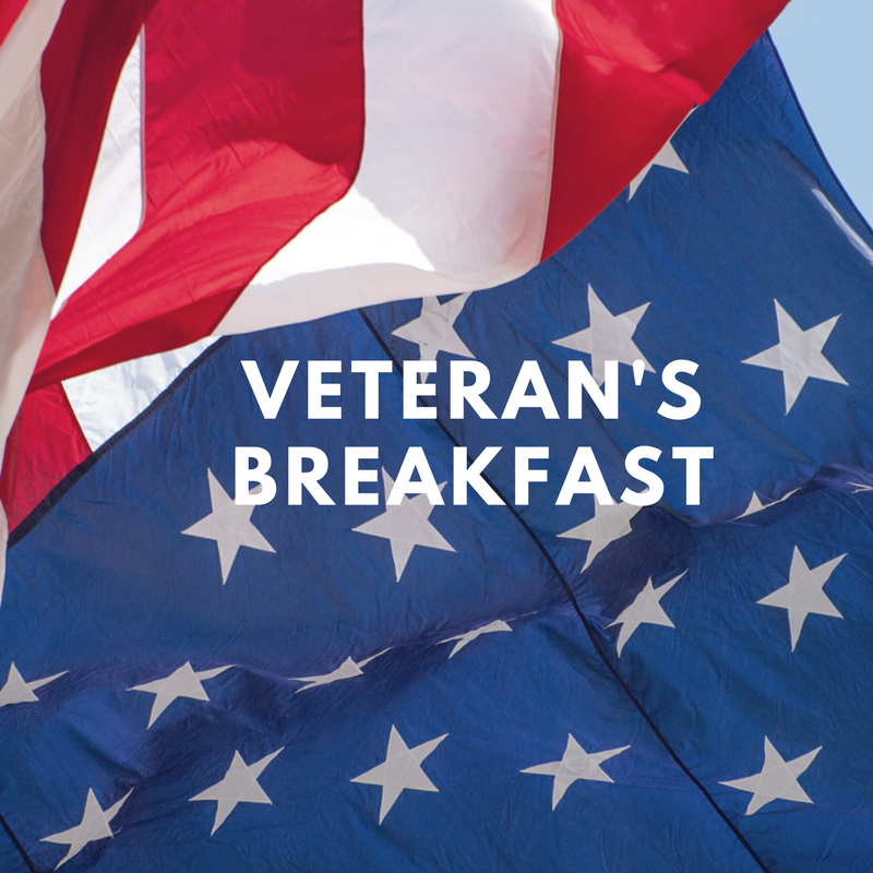 Veterans Breakfast