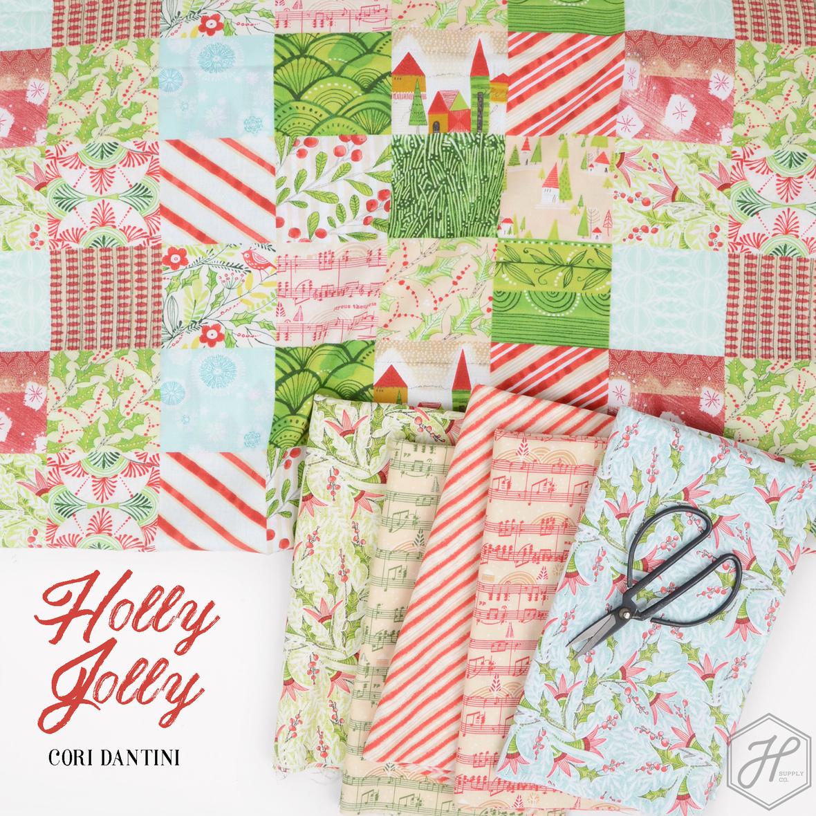 Holly Jolly Cori Dantini for Free Spirit at Hawthorne Supply Co